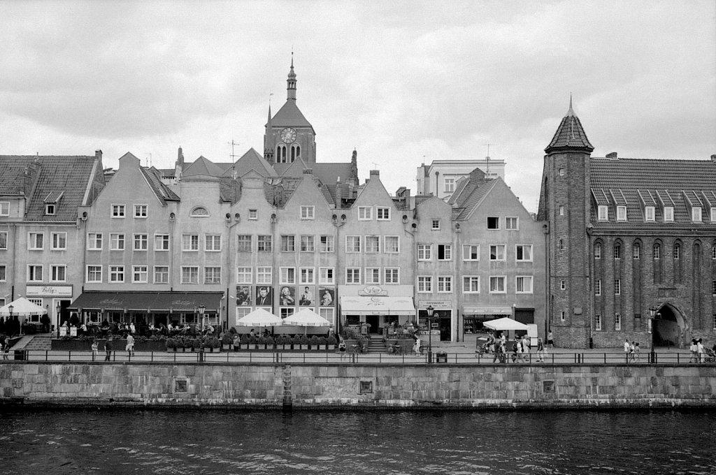 Gdańsk: Cityscape with Kościół św. Jana